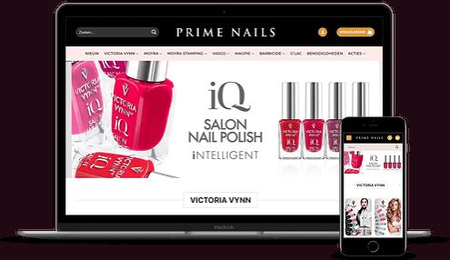 Online groothandel voor nagelproducten